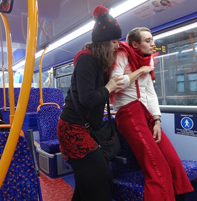 Butoh on the bus 2015